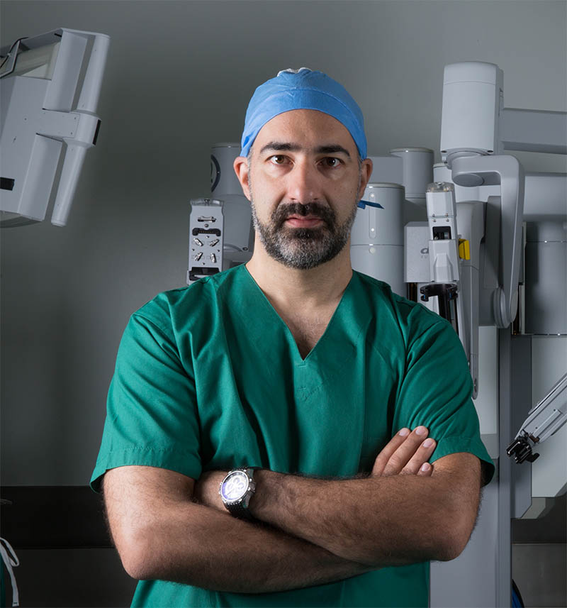Urologist surgeon Andreas Andreou
